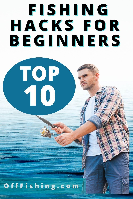 TOP 10 Fishing Hacks For Beginners Pinterest