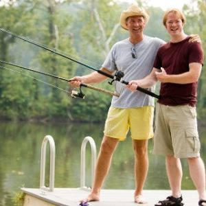 Find a Fishing Mentor Off Fishing