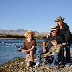 Give Fishing and Family Their Time Off Fishing