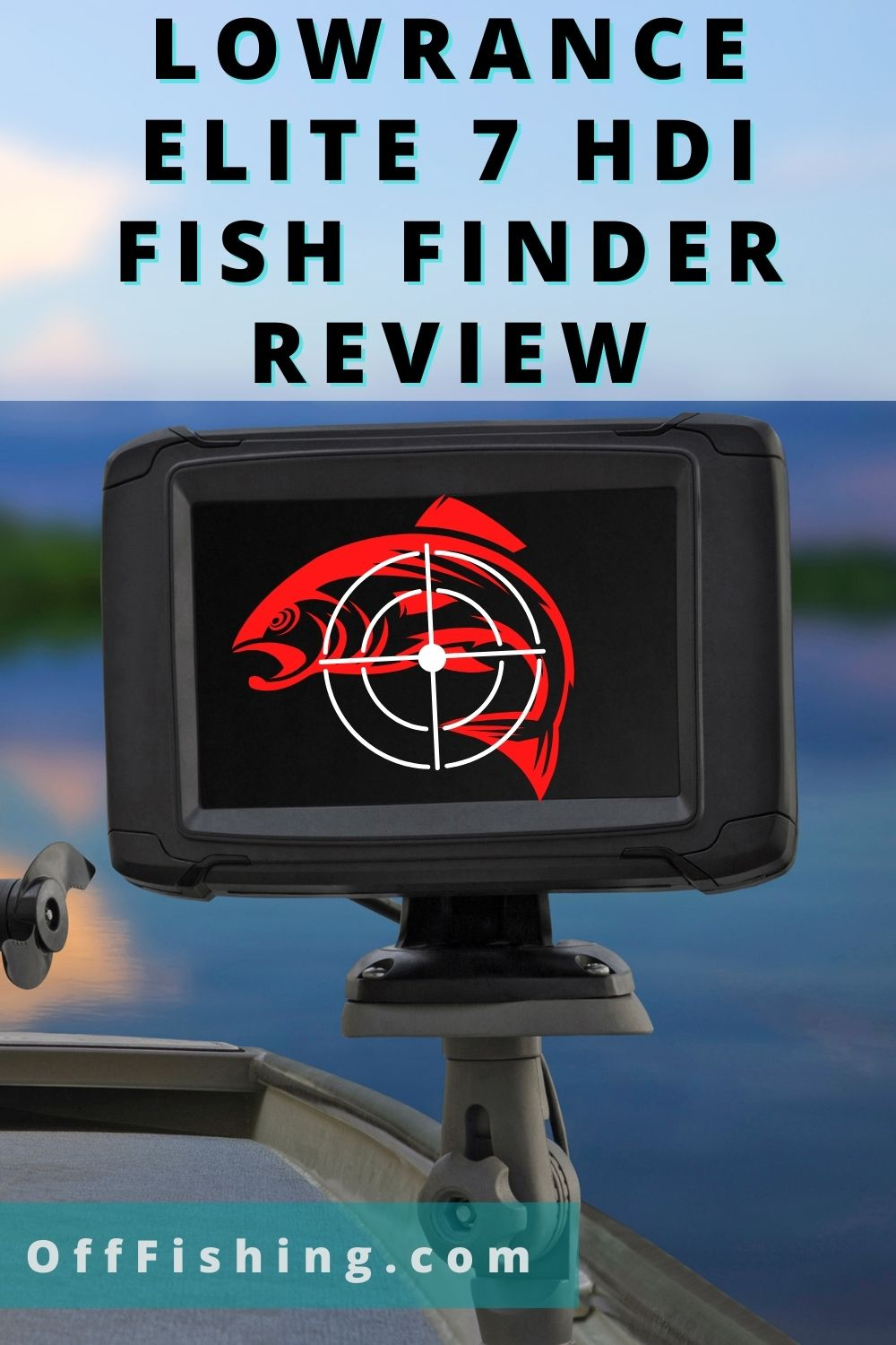HDI Fish Finder Lowrance Elite 7 Review Pinterest pIN