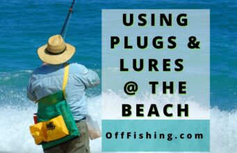 Using Plugs and Lures Beginner Beach Fishing Tips Off Fishing